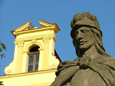 St Florian on the main square of Zlin