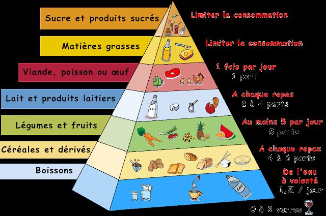 Piramida żywienia - słownictwo 3 - Francuski przy kawie