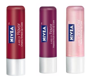 Review: Nivea Tinted Lip Balms
