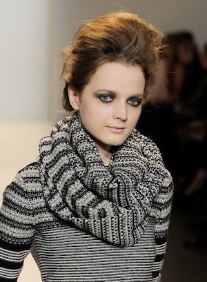 Beauty from Lela Rose Fall 2010