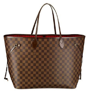 Louis Vuitton Neverfull GM in Damier inside tote