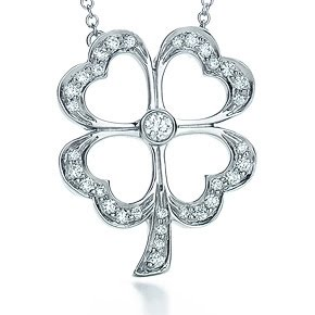 Tiffany's Four Leaf Clover for St. Patrick's Day