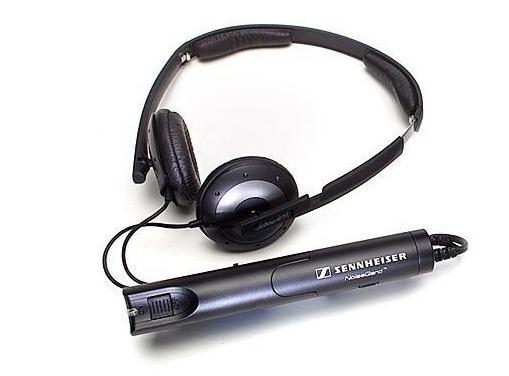 Noise cancelling headphone by Sennheiser