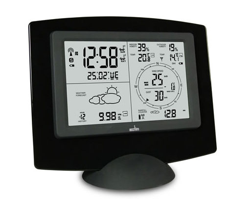 Wireless weather forecaster UK