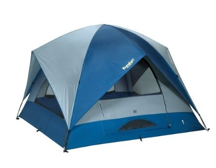 Family camping tent for 6 persons