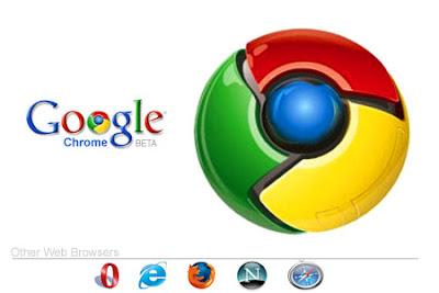 Official logo of Google Chrome web browser