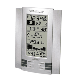 Atomic Clock plus Weather Station by La Crosse Technology