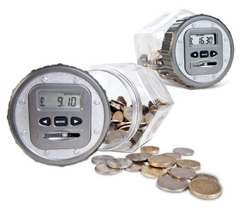 Money Jar with Digital counter
