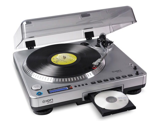 LP to CD Ion USB Turntable