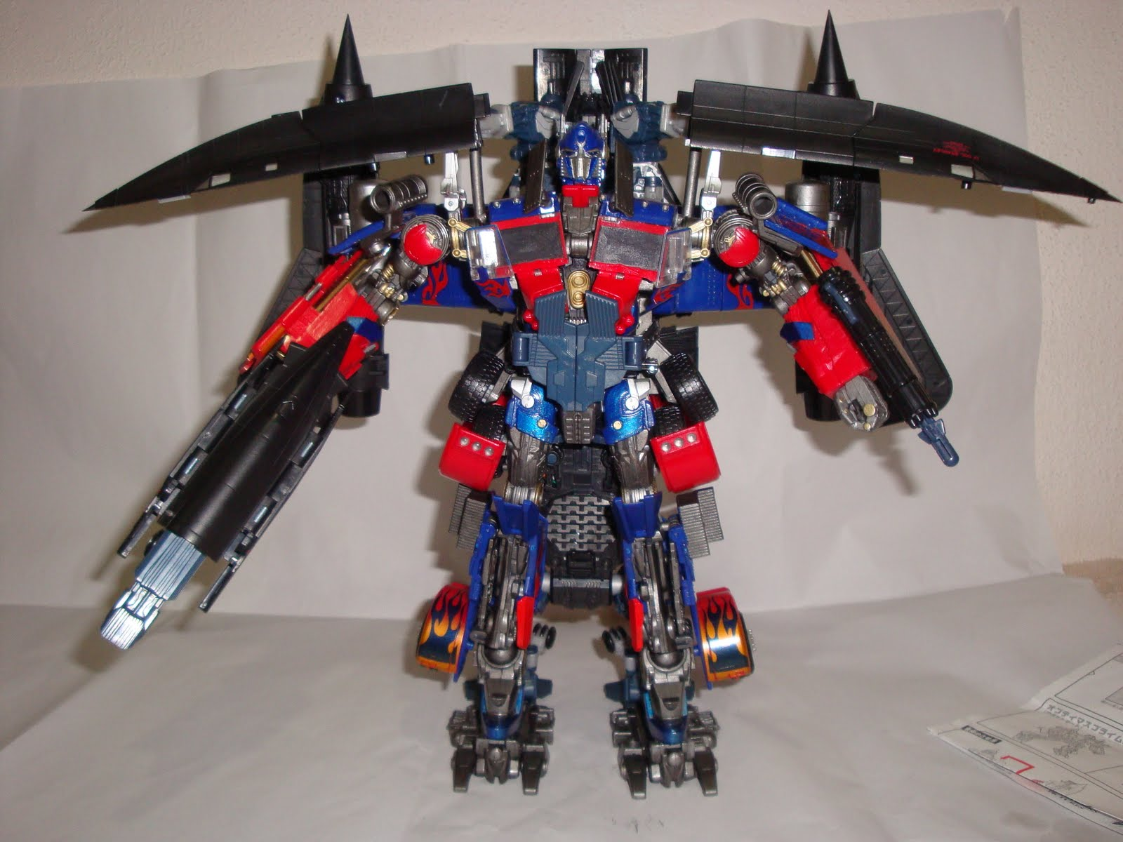 Image Gallery jetfire and optimus prime