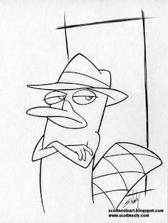 Scott Neely's Scribbles and Sketches!: PHINEAS AND FERB