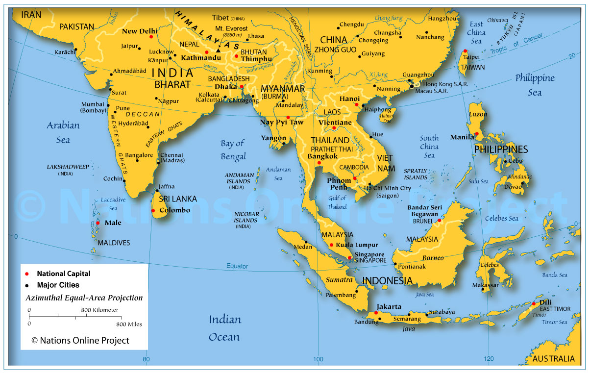 Landforms Of East Asia 74