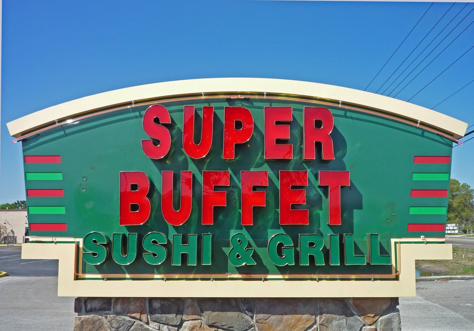 The Super Buffet Opened Yesterday At Former Johnny Carinos On Sr 54 Next To Lebees In Wesley Chapel New Restaurant Is Open For Lunch And