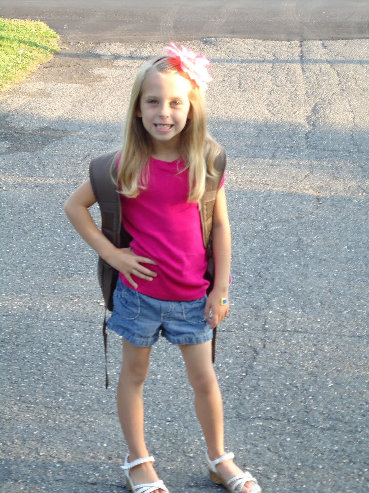 Happy Challenge: First Day Of School