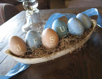 Inspiring Ideas with artist Jeanne Winters quotJesusJesus Easter Egg