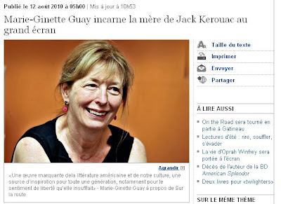 Ontheroadmoviefans Marie Ginette Guay Incarnates The Mother Of Jack