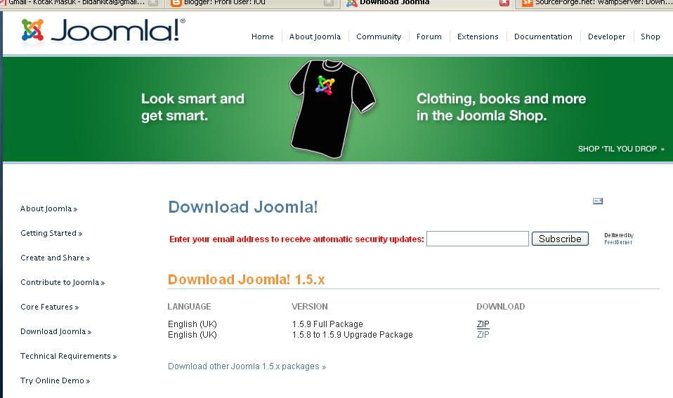 Gambar Download Joomla