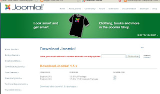 Gambar Download Joomla