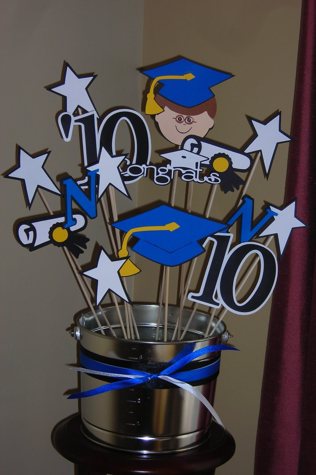 graduation craft ideas being craft de that s me decorations for nico s grad 2106