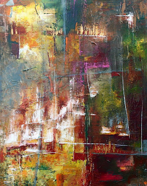 Contemporary Modern Abstract Art Original Painting