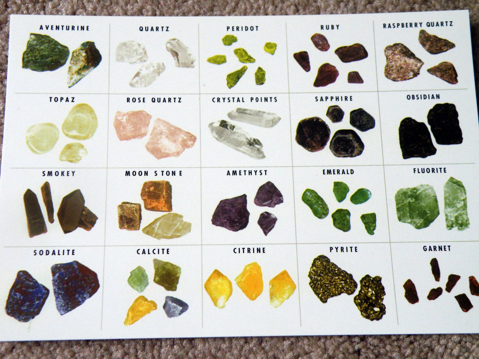 Different Types Different Types Of Rocks