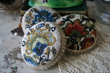 Punch Needle Pincushions