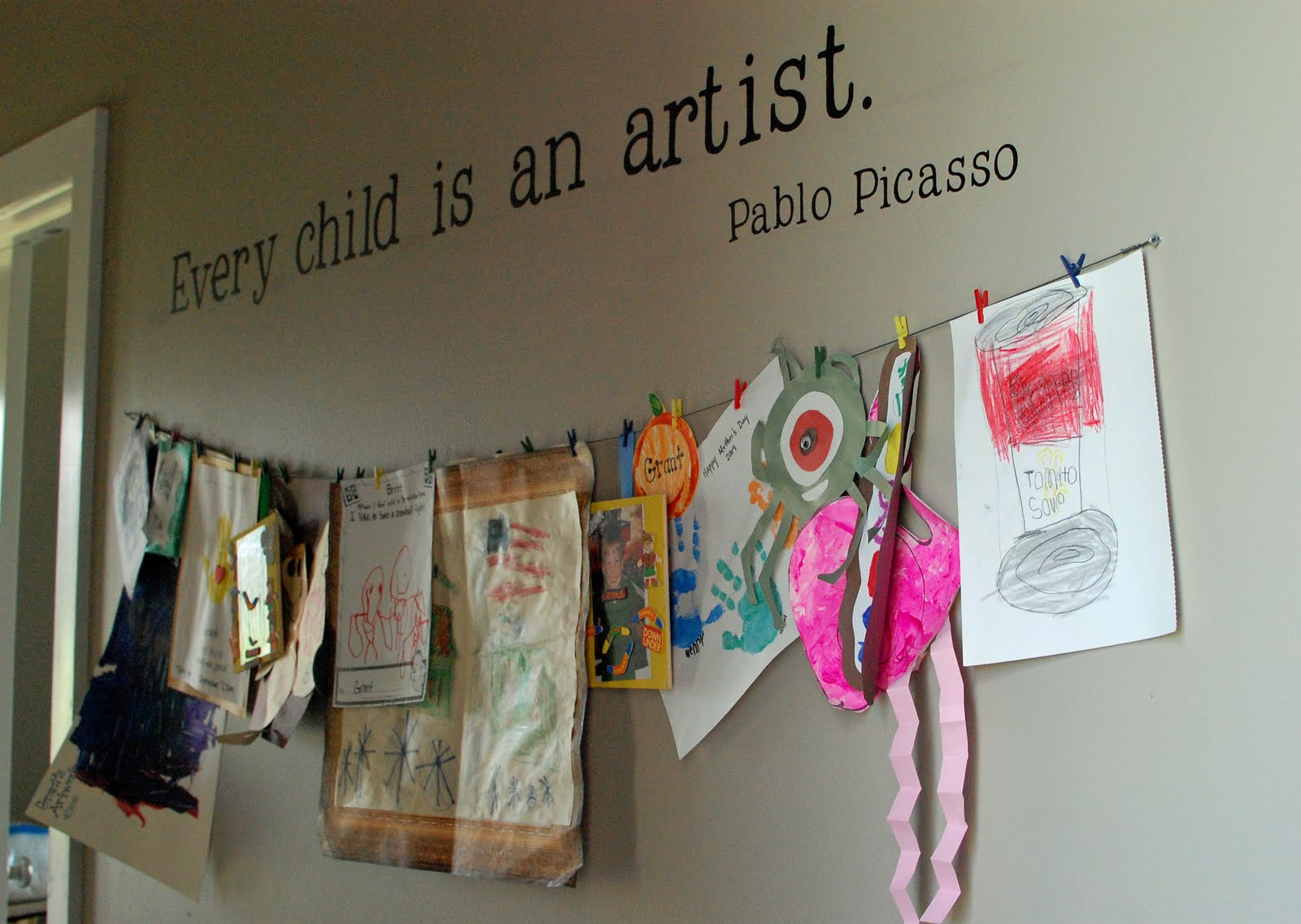 Creative Ways To Display Quotes: Winners Of The Kids Crafts Challenge!