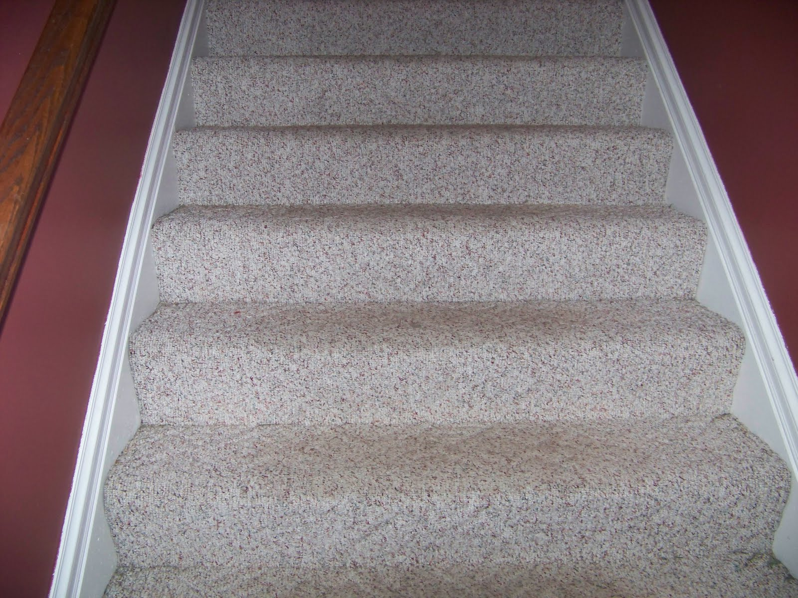 Berber Carpet On Stairs