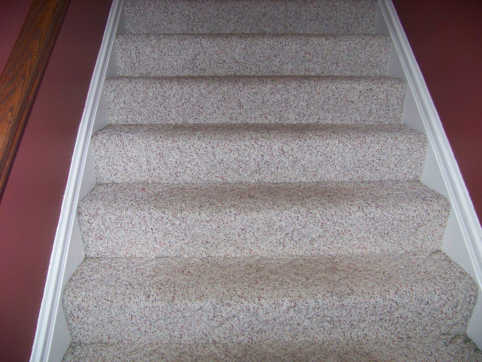 Berber Carpet On Stairs
