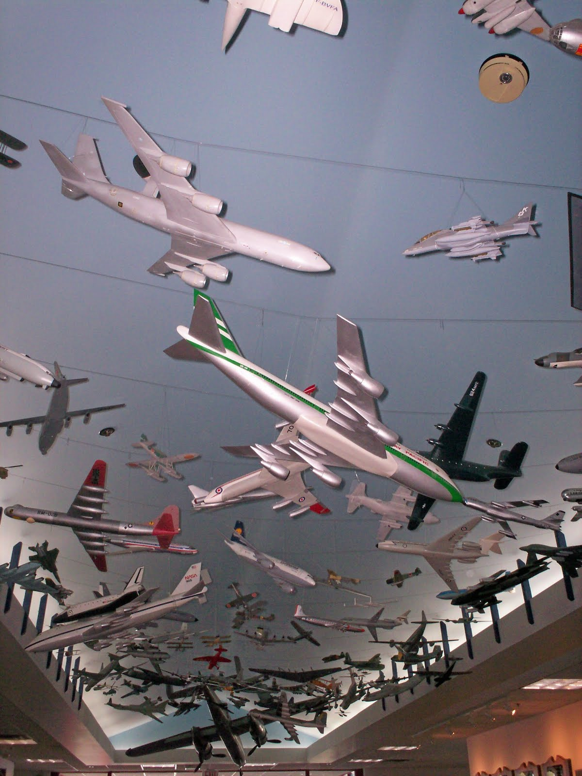 Ne Air Museum Toy Models From Ceiling 410