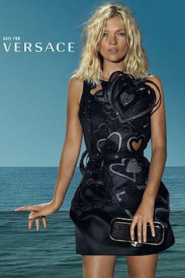 Kate Moss para Versace