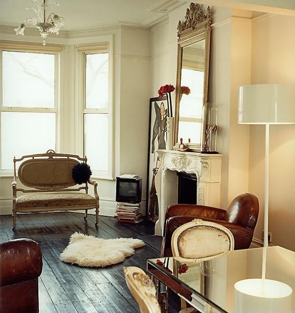 Vintage Chic London Apartment