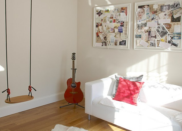 My Home: The Swing in My Studio