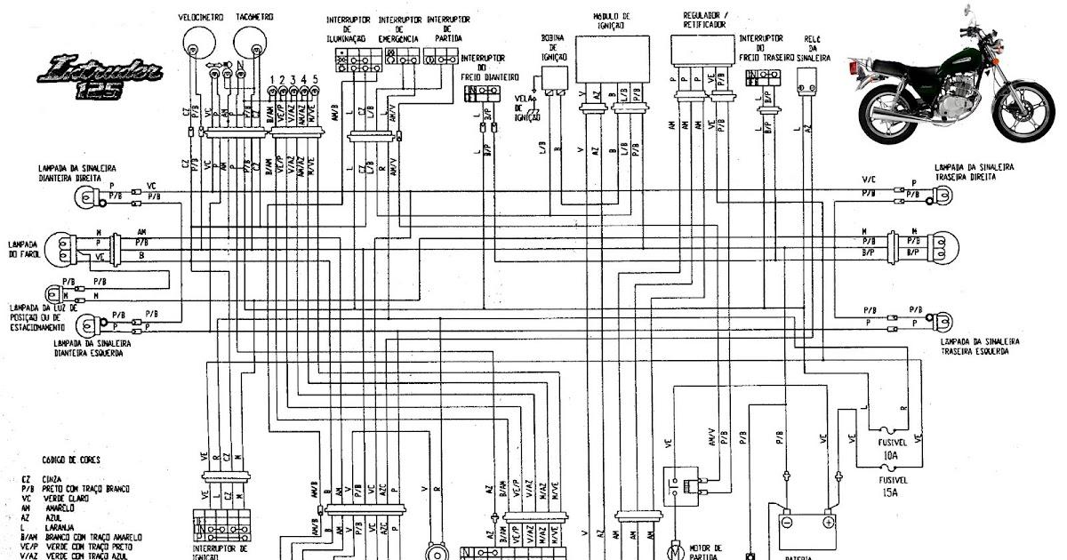 Suzuki: Equema elétrico Intruder 125