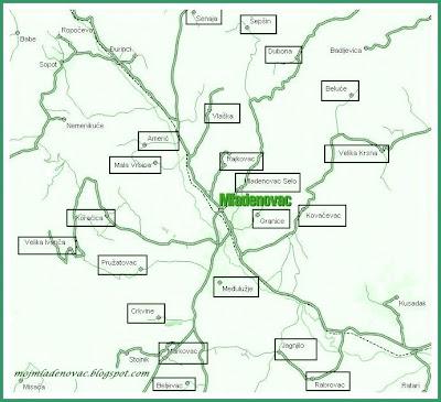 karta srbije mladenovac Mladenovac i naselja koja pripadaju Mladenovcu | Mladenovac karta srbije mladenovac