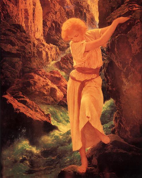 Canyon Maxfield 1923 Art