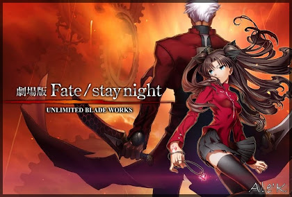 FILME – FATE STAY NIGHT UNLIMITED BLADE WORKS
