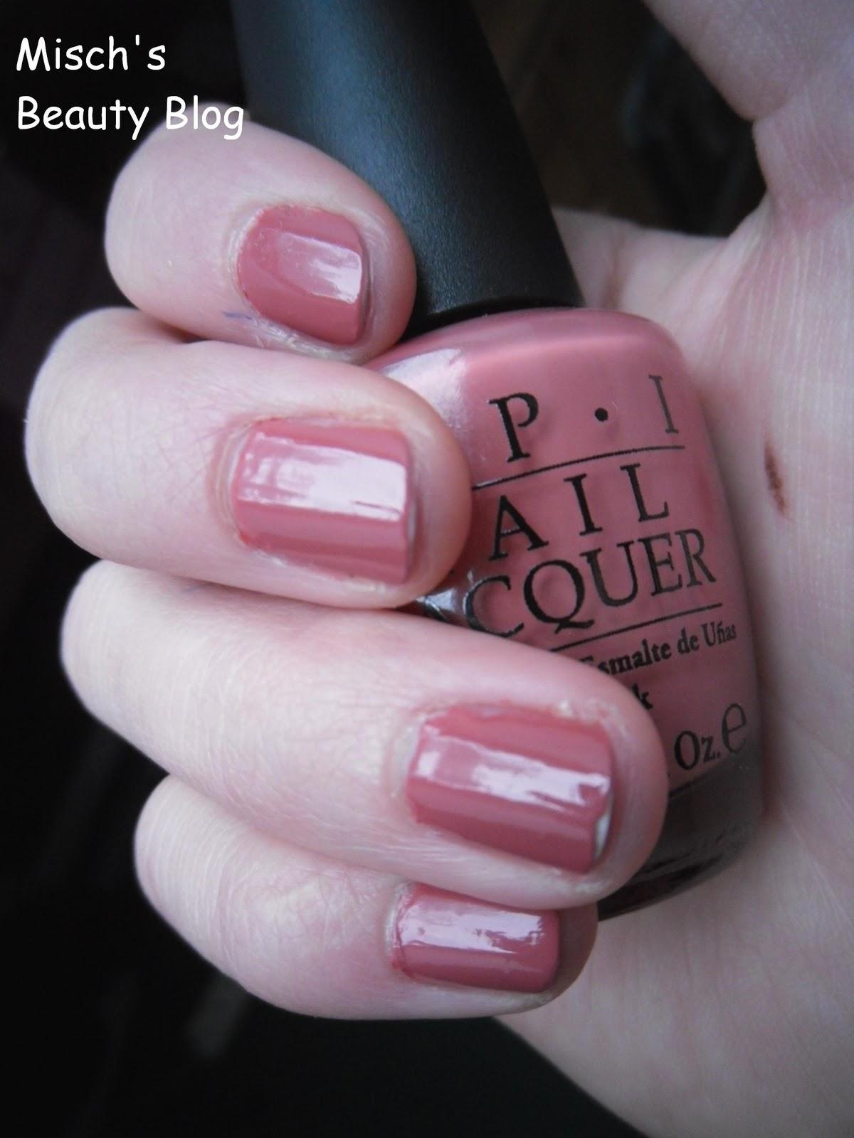 Misch S Beauty Blog Notd September 29th Fall Leaf Nail Art: Misch's Beauty Blog: NOTD January 31st: OPI