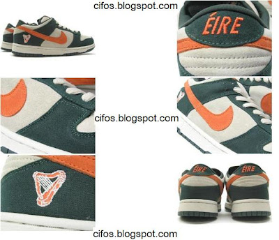 new product de0b4 604f5 C4: ND050 Nike Dunk Eire Edition