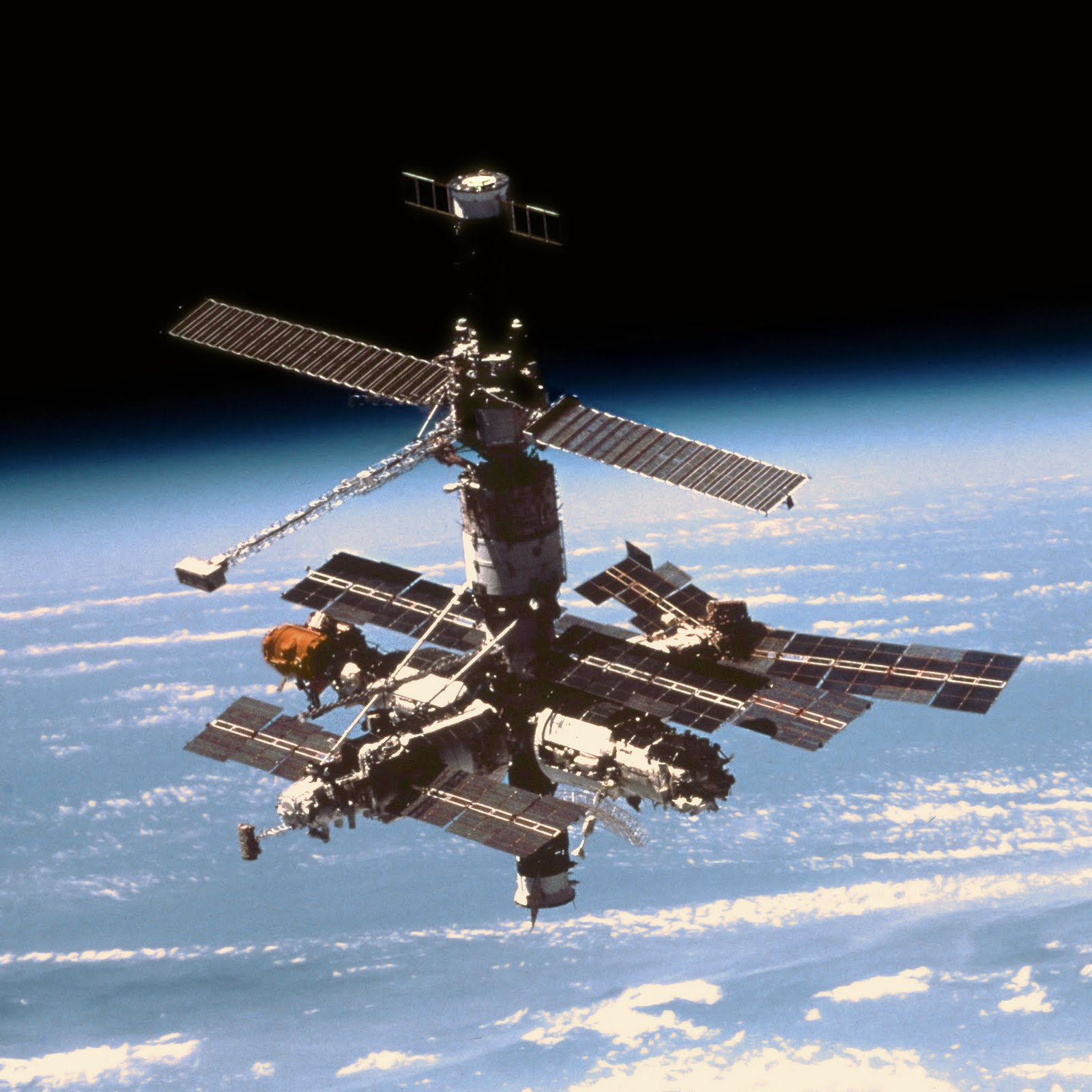 RANDOM BLOG: MIR space station