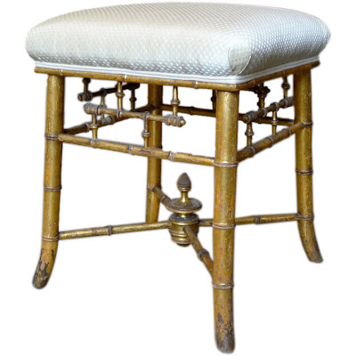 Chinoiserie Chic The Faux Bamboo Bench