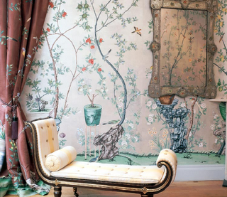 Chinoiserie Chic: Chinoiserie Wallpaper Series-de Gournay