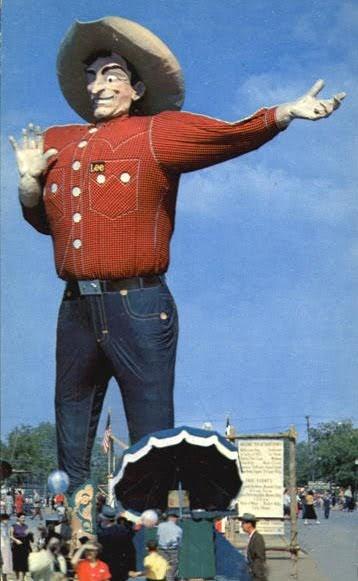 Old Dallas Stuff Big Tex