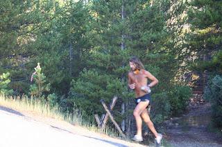 Anton running Leadville I think.