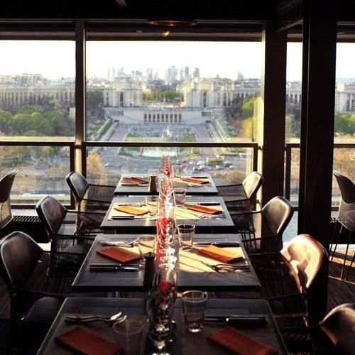 Going To Paris 58 Tour Eiffel Restaurant