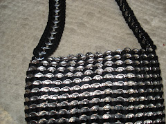 Purse Made out of Pop Tabs