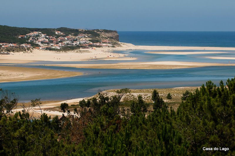 Lagoon from Foz do Arelho