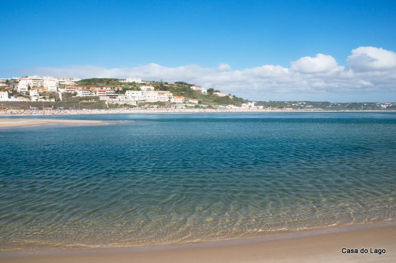 Foz do Arelho, from Obidos lagoon