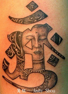 āṃḥ Buddhist Tattoo
