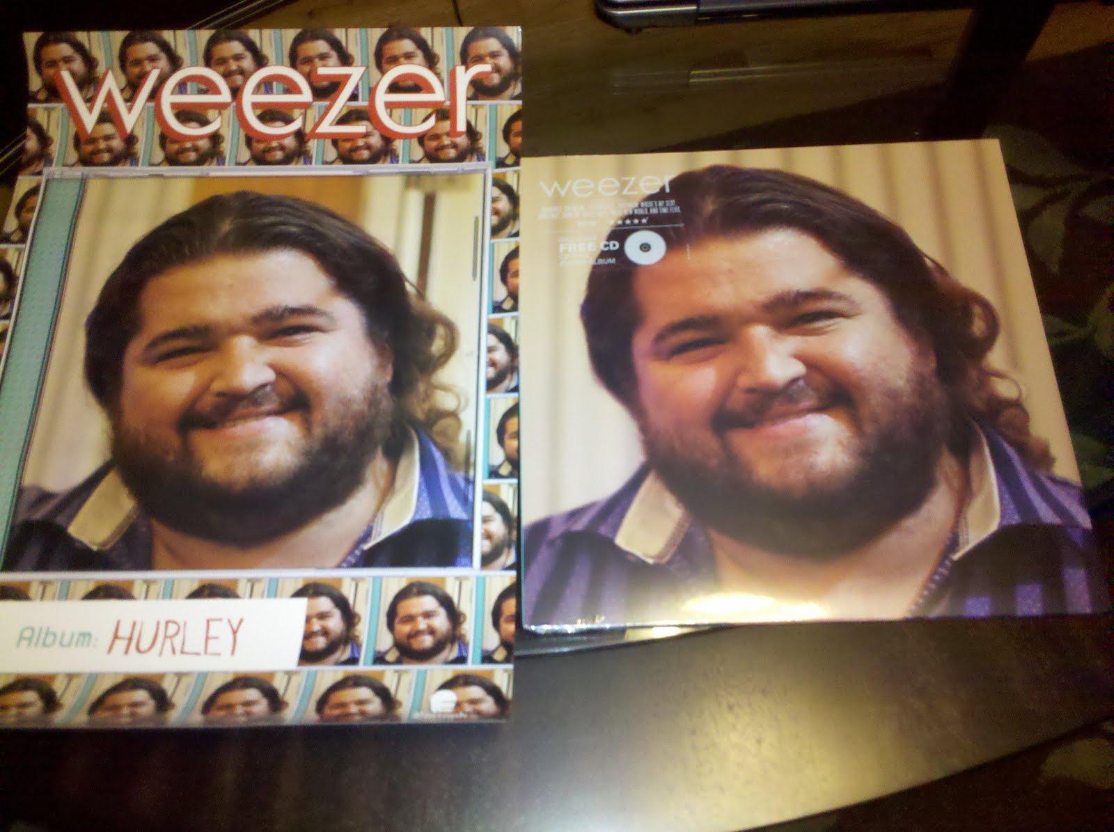 crystlebordi: Another Week Another Vinyl: Weezer: Hurley